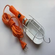 Светильник переносной ЛСУ-1 10 м с выключателем и решеткой