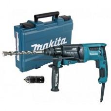 Перфоратор HR2631FT Makita 800/2,7Дж/SDS+/БЗП/3реж/виброзащита, кейс