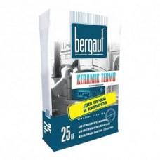 Клей облицовки печей Keramik Termo 25 кг Bergauf (56)
