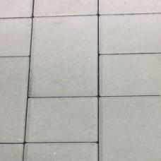 Плитка тротуарная Патио 600х300х60 мм белый на БПЦ