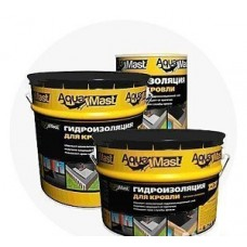 Мастика битумно-резиновая AguaMast 18 кг