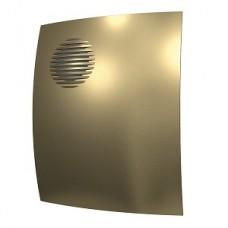 PARUS 4C champagne, Вентилятор осевой вытяжной с обратным клапаном D 100, декоративный