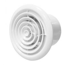 FLOW 5 BB, Вентилятор осевой канальный вытяжной с круглой решеткой с двигателем на ш/подшип D 125
