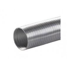 09ВА, Воздуховод гибкий алюминиевый гофрированный, L до 3м