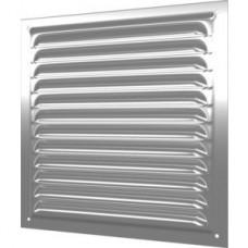1212МЦ, Решетка вентиляционная вытяжная стальная с оцинкованным покрытием 125х125