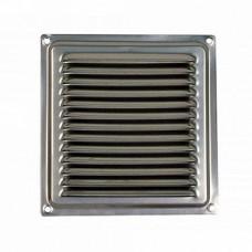 1515МЦ, Решетка вентиляционная вытяжная стальная с оцинкованным покрытием 150х150