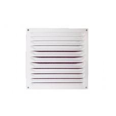 2020МЭ, Решетка вентиляционная вытяжная стальная с покрытием полимерной эмалью 200х200