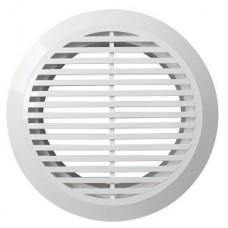 10РКФ, Решетка вентиляционная круглая D145 вытяжная АБС с фланцем D100