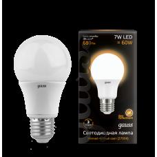 Лампа LED  7Вт А60 Е27 теплый свет Gauss