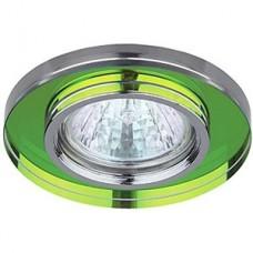 DK7 CH/MIX Светильник ЭРА декор стекло MR16,12V, 50W, зеркальный мультиколор/хром