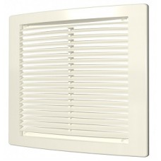 1515РЦ Ivory, Решетка вентиляционная вытяжная АБС 150х150