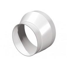 1012,5РЭП, Соединитель эксцентриковый круглого воздуховода с круглым пластик D100/125