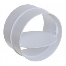 10СКПО, Соединитель с обратным клапаном пластик, D100