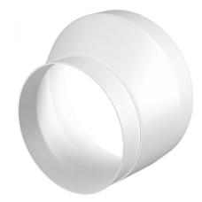 12,516РЭП, Соединитель эксцентриковый круглого воздуховода с круглым пластик D125/160