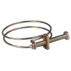 Хомут обжимной проволочный, инструм.сталь  55-60 мм