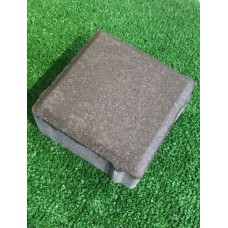 Плитка тротуарная Квадрат 200х200х60 мм, серый