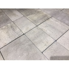 Плитка тротуарная Мультитек 60 мм бело-серый МИКС на БПЦ (коллекция)