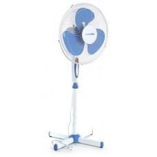 Вентилятор LuazON LOF-01, напольный, 40 Вт, 40 см, 3 режима, бело-синий   3015660