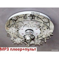 Люстра ЛасСветас 7514/5Y MP3+ПДУ