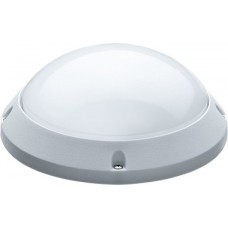 Светильник светодиодный ДБП-12w 400ОК 900лм круглый пластик.IP65 белый ОНЛАЙТ