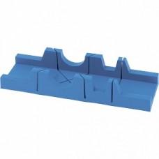 Стусло, 295 х 65 мм, пластиковое, 3 угла для запила // СИБРТЕХ 22570