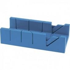 Стусло пластиковое,300 х 100 мм, 4 угла для запила //СИБРТЕХ 22572