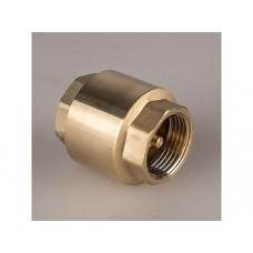 Обратный клапан Ду15 пруж. с латунным штоком