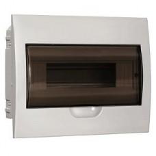 IEK Бокс ЩРв-П-12 встраиваемый пластик белый прозр.дверь IP40