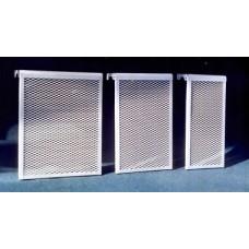 6 ДМЭР, Декоративный металлический экран на радиатор 6-и секционный
