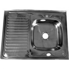 Мойка кухонная стальная 60 х 80 правая BETANOX Толщина стали-0,4 мм Глубина чаши-135мм
