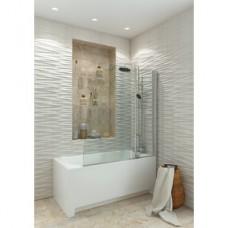 JY72 Душевое ограждение на ванну 120х130, прозрачное стекло
