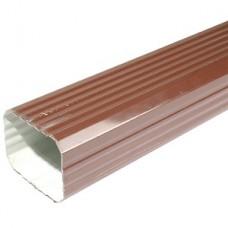 Труба водосточная 76*102 2м (RAL 8017 коричневый)