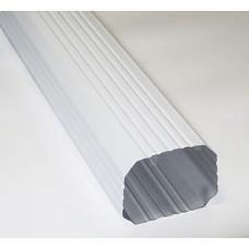 Труба водосточная 76*102 2м (RAL 9003 белый)