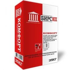 Клей монтажный КОМФОРТ, БИРСMIX, 25 кг/48