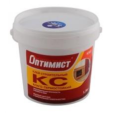 Оптимист Клей КС строительный термостойкий для внутренних работ   1,5 кг