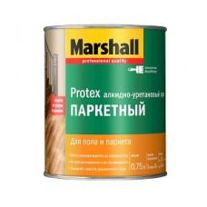 Marshall Protex лак алкидно-уретановый паркетный полуматовый ( 0,75л)