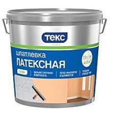 """ТЕКС Шпатлевка латексная для вн. работ """"Профи""""  8 кг"""