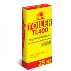 TOILER TL 400, кладочно-клеевой состав, 25 кг (48)