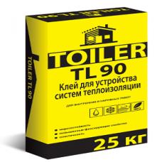 TOILER TL 90, Клей для пенополистирола, армирующей сетки, 25 кг
