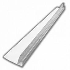 F-профиль белый ПВХ 3м, 7мм (1уп=30шт)