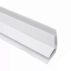 Внутренний угол белый ПВХ 3м, 7мм (1уп=30шт)