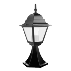 Светильник FERON 4204 100W квадрат черный (12)
