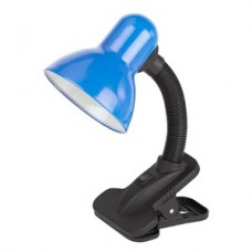 Настольный светильник ЭРА N-102-E27-40W-BU синий