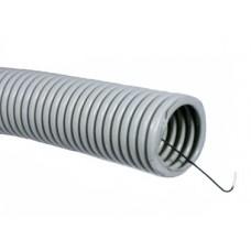 Гофротруба ПВХ серая 20мм * 100м цена за пог.метр