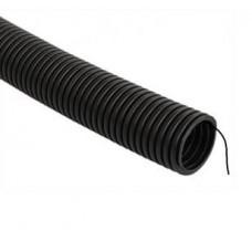 Гофротруба ПНД черная 25мм * 50 цена за пог.метр