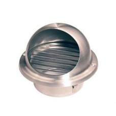 10ВМ, Выход стенной вентиляц.металл.с фланцем ф100мм