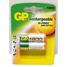Аккумулятор GP R-6 1600 A НС-2CR2 1/2шт