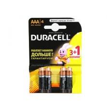 Duracell LR03-4BL BASIC 1/4шт