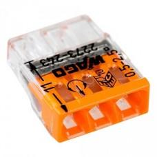 Клемма 3-проводная компактная с пастой (6шт)