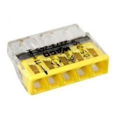 Клемма 5-проводная компактная с пастой (6шт)